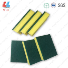 Large green scouring pad sponge