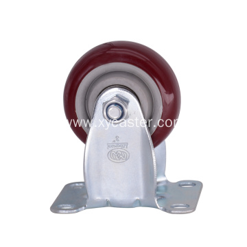 Medium duty 3 Inch PVC  Caster Wheel