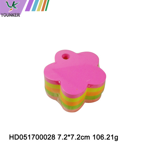 Heart Flower Apple Shape Colorful Sticky Notes