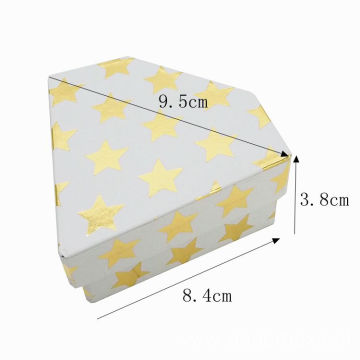 New Design Diamond Shaped Paper Jewelry Gift Box