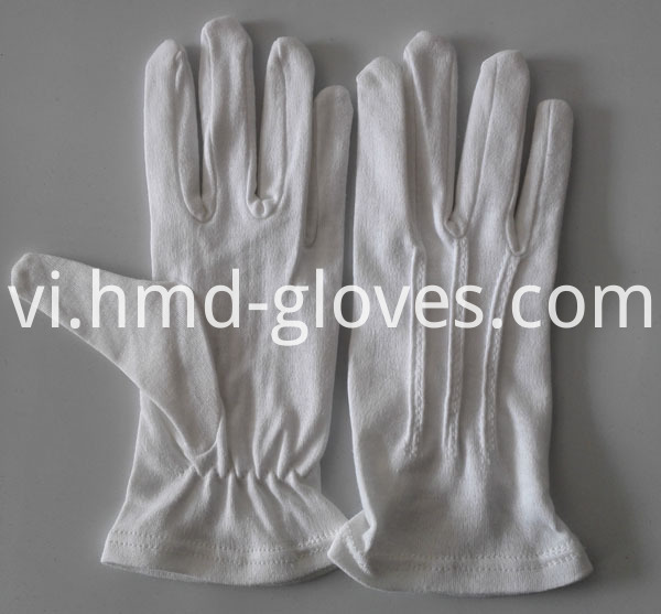 100% Cotton Gloves for Marching Band