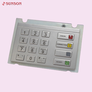 16 Keys Pinpad Wincor ATM V5 Encrypted Keypad
