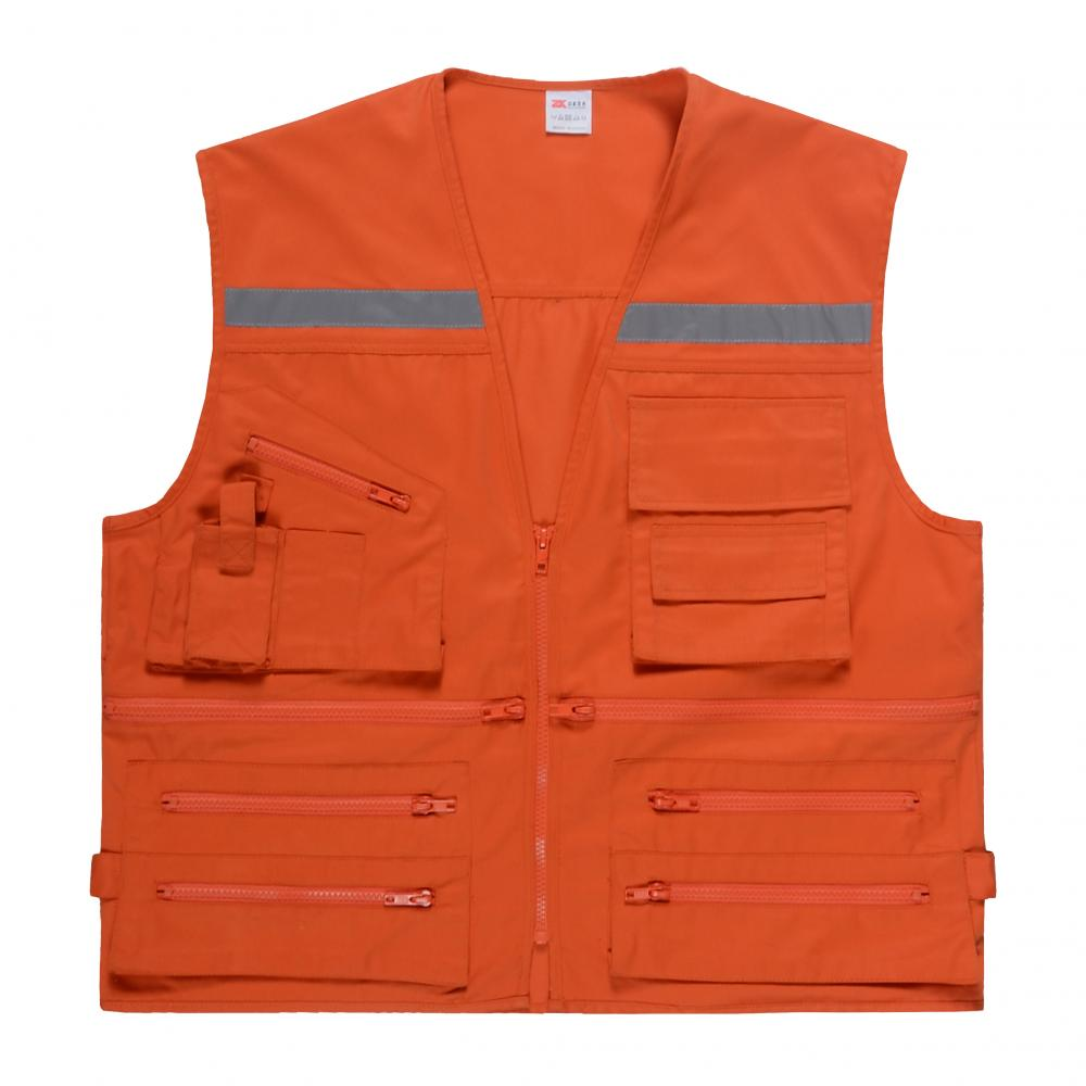 Multi Pockets Vest