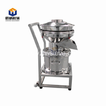 Mini type 450 vibrating filter for almond milk