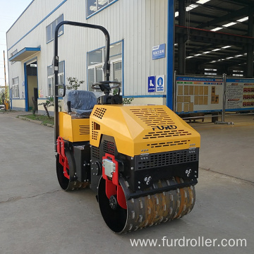Roller vibratory sheeps foot compactor double drum road roller FYL-880