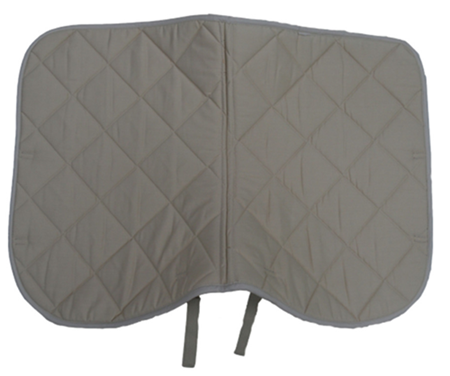 polycotton horse saddle pad