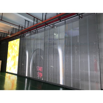 500x1000mm rental size transparent led screen led display