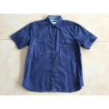 Short Sleeve Shirt Navy Printing