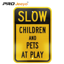 Customized Reflective road traffic safety warning sign