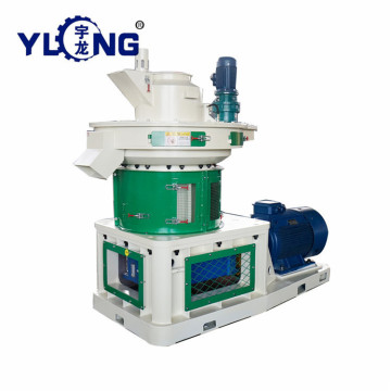yulong portable pellet plant