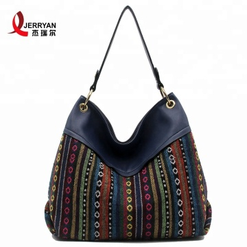 Women Black Leather Shoulder Bags Shopper Handbags
