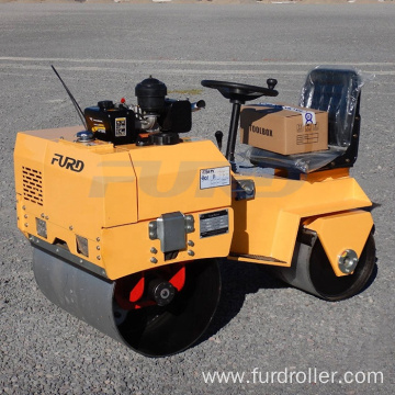 Driving Vibratory Road Roller Mini Road Roller Compactor  FYL-855