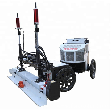 Laser Leveling Machine Ride On Four Wheel Concrete Laser Screed FJZP-220