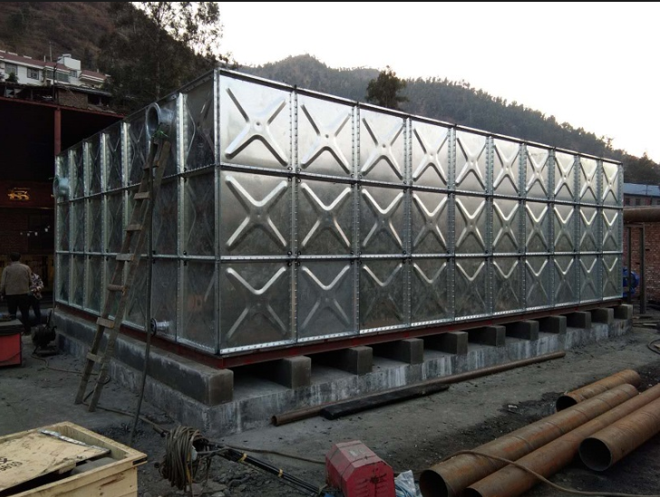 Customized Steel Panel Assembly Water Tank