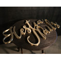 Large Metal Letters for Wall Decor
