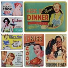 30X20cm Plaque Vintage Tin Sign Plate Bar Pub Art Poster Home Car Plates Retro Metal Wall Decor Clean Kitchen House Diner H42