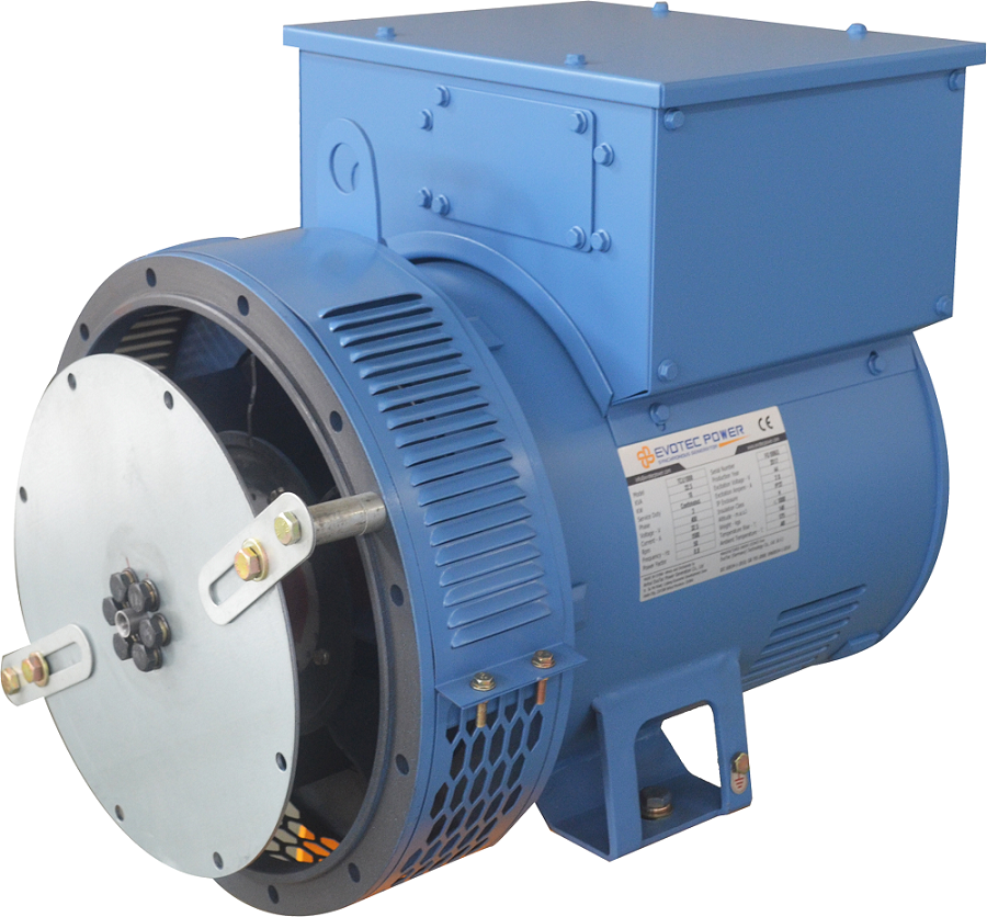 Evotec 280kw Brushless Low Voltage Generator