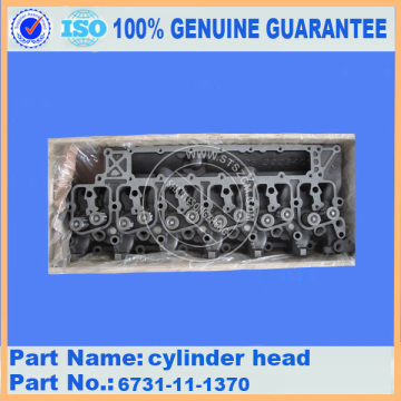 6D114 Cylinder Head 6745-11-1123 for PC300-8 Excavator Parts