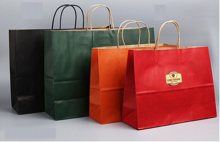 Colorful Paper Bag Kraft313