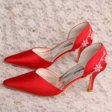 Red Shoes for Wedding Guest Women