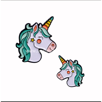 Customized Colorful Soft Enamel Pin Unicorn Lapel Pin