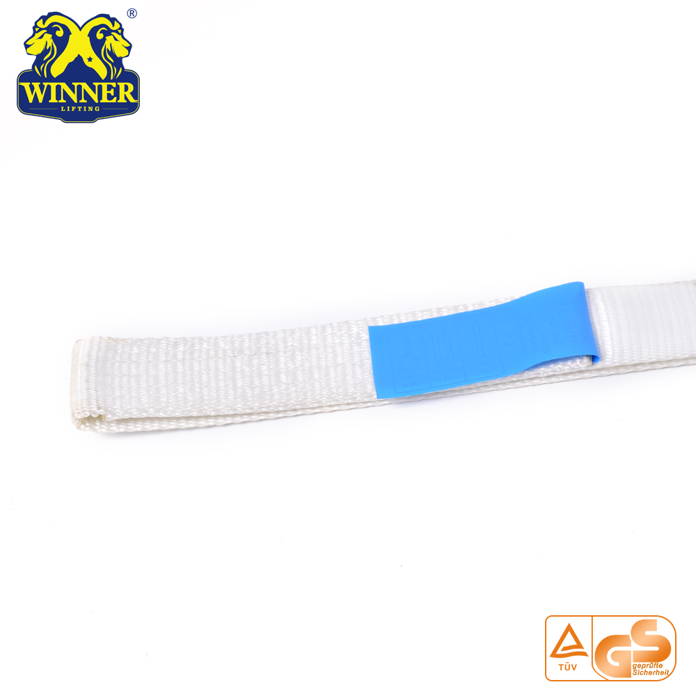 Lifting Lashing Polyester Soft Endless Round Sling Belt