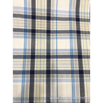 T/C(48%Cotton52%Polyester) Woven Yarn-dyed Plaid Fabric