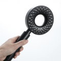 ABSRound black hand shower black shower