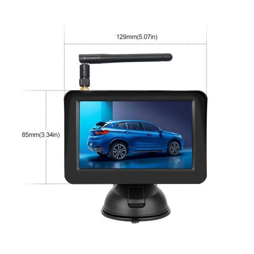 Wireless Reverse Camera Kit with 4.3inch Car Monitor