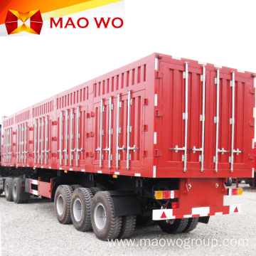 Good Quality 40ton 60ton Van Semi Truck Trailer