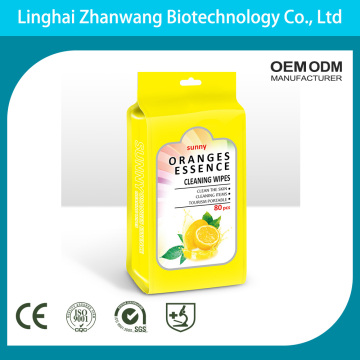 Professional Custom OEM Disposable Facial Cleansing Wipes