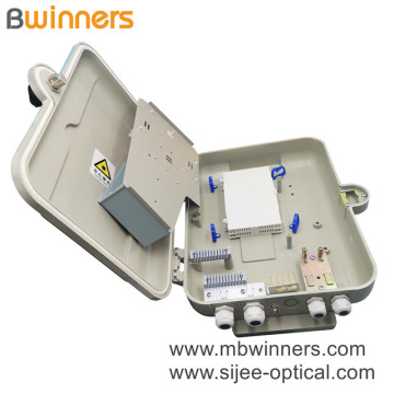 1X16 Plc Splitter Smc Fiber Optic Distribution Box