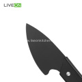Wood Handle Cheese Knife Set Black Oxide