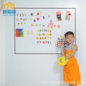 Large Portable Dry Erase Metal Board For Magnet