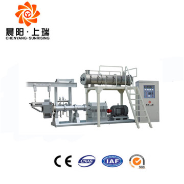 Cheese balls extruder puffing machine