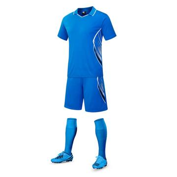 Red color soccer jersey for men training