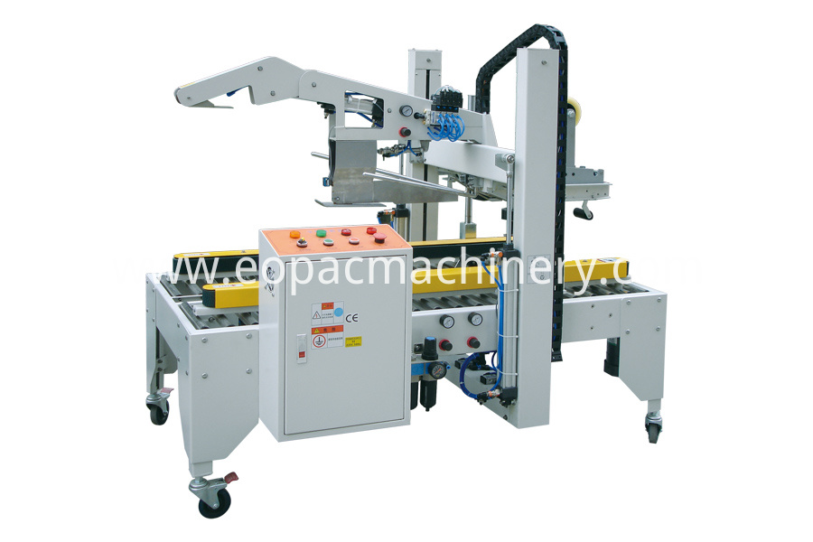 Box Sealing and Shrinking Machine