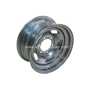 US Type Trailer Steel Wheel Rim