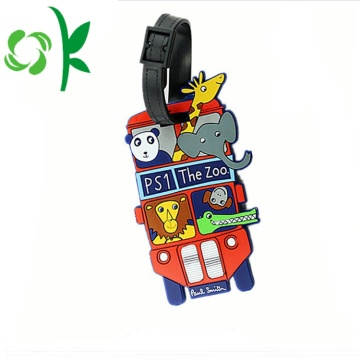 Customized Wholesale Cool Luggage Bag Tags
