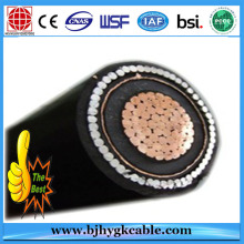220KV Copper Conductor XLPE Copper Wire Screened Power Cable