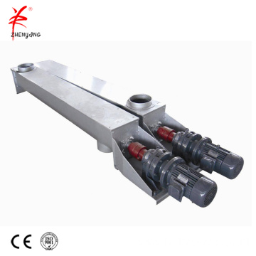 Screw conveyor for wet sand