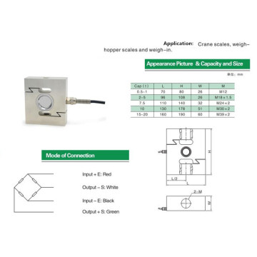 Tension and Compression Load Cell Controller Celda