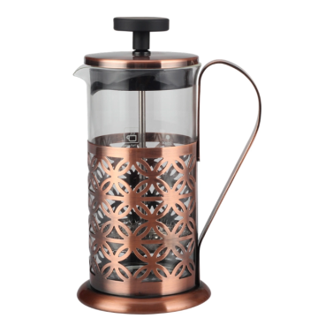 French Press with Heat-resistant glass bottle