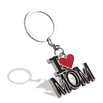 Personalized Metal Key Chains Accessories Letter Shape