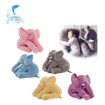 animal elephant baby head sleeping pillow