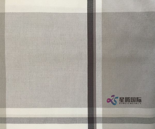 Yarn dyed 100% Cotton Fabric For Casual Shirt