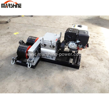 50KN Double Drum Fast Speed Winch Cable Pulling