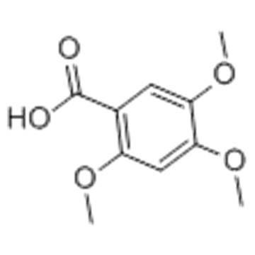 2,4,5-Trimethoxybenzoic acid CAS 490-64-2