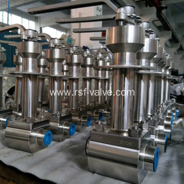 Cryogenic Top Entry Floating Ball Valve