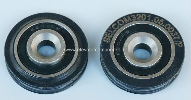 Selcom Door Steel Wire Rope Roller 3201.05.0037